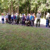 Студенты на военно-патриотической смене «Остров Мужества»