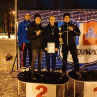 Первенство по лыжной эстафете