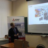 В НХТИ прошел технический семинар, организованный специалистами ООО «Мицубиси Электрик (РУС)»