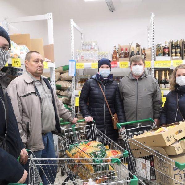 Благотворительная помощь ветеранам НХТИ