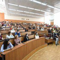 Встреча членов штаба гражданских инициатив «Город для жизни, город для людей» со студентами города