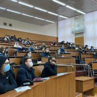 В НХТИ для студентов была проведена открытая лекция «Язык и культура», посвященная проблеме соотношения языка и культуры.