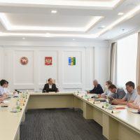 Обсуждение концепции развития института на совещании с участием Главы НМР