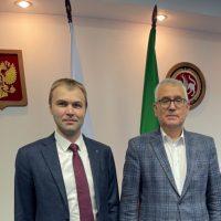 Деловая встреча с вице-губернатором Санкт-Петербурга